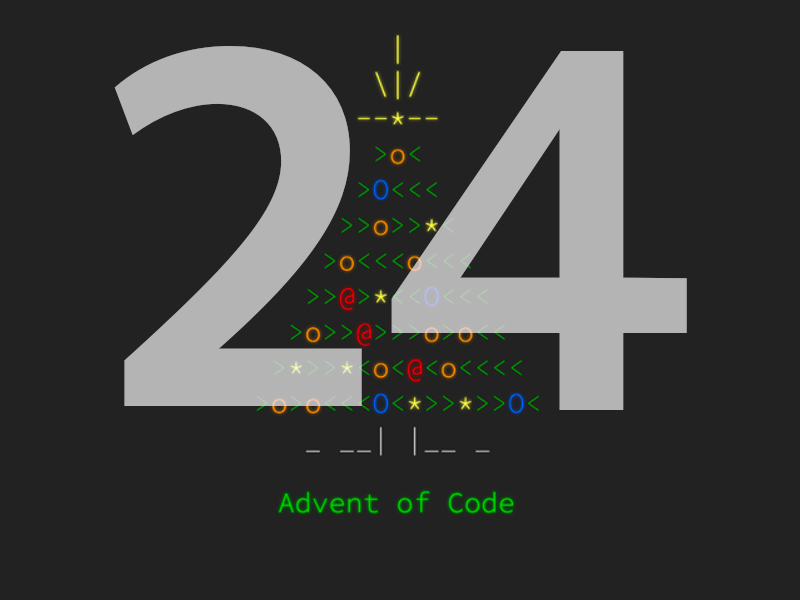 Advent of Code 2020 - Day 24